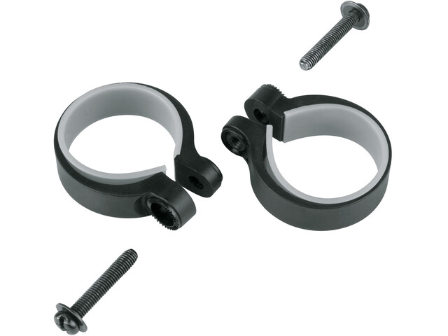 SKS Strut Mounting Clamps 34.5-37.5mm 2 pcs. black